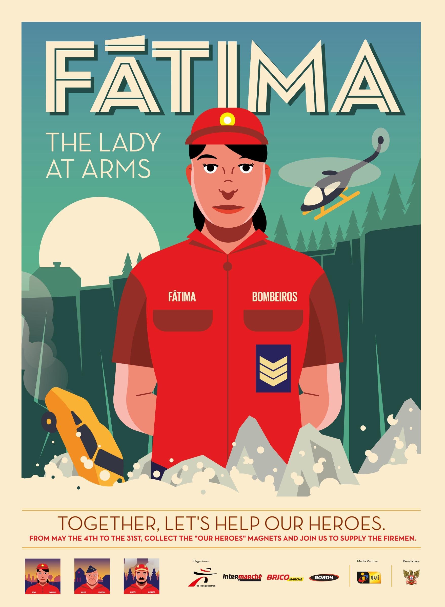 Intermarche Print Ad -  Fátima