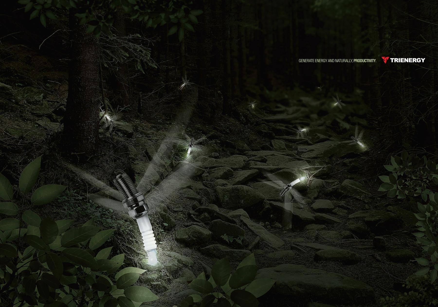 Trienergy Print Ad -  Firefly