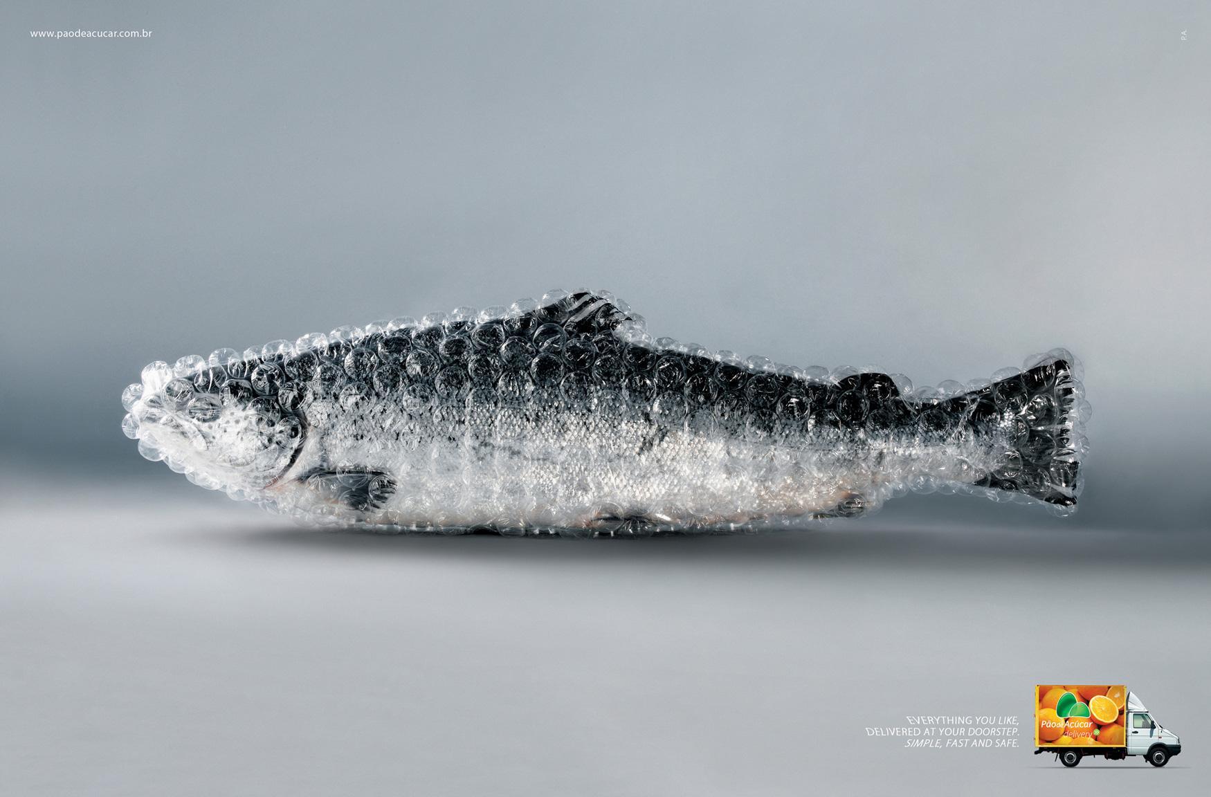 Pão de Açúcar Print Ad -  Fish