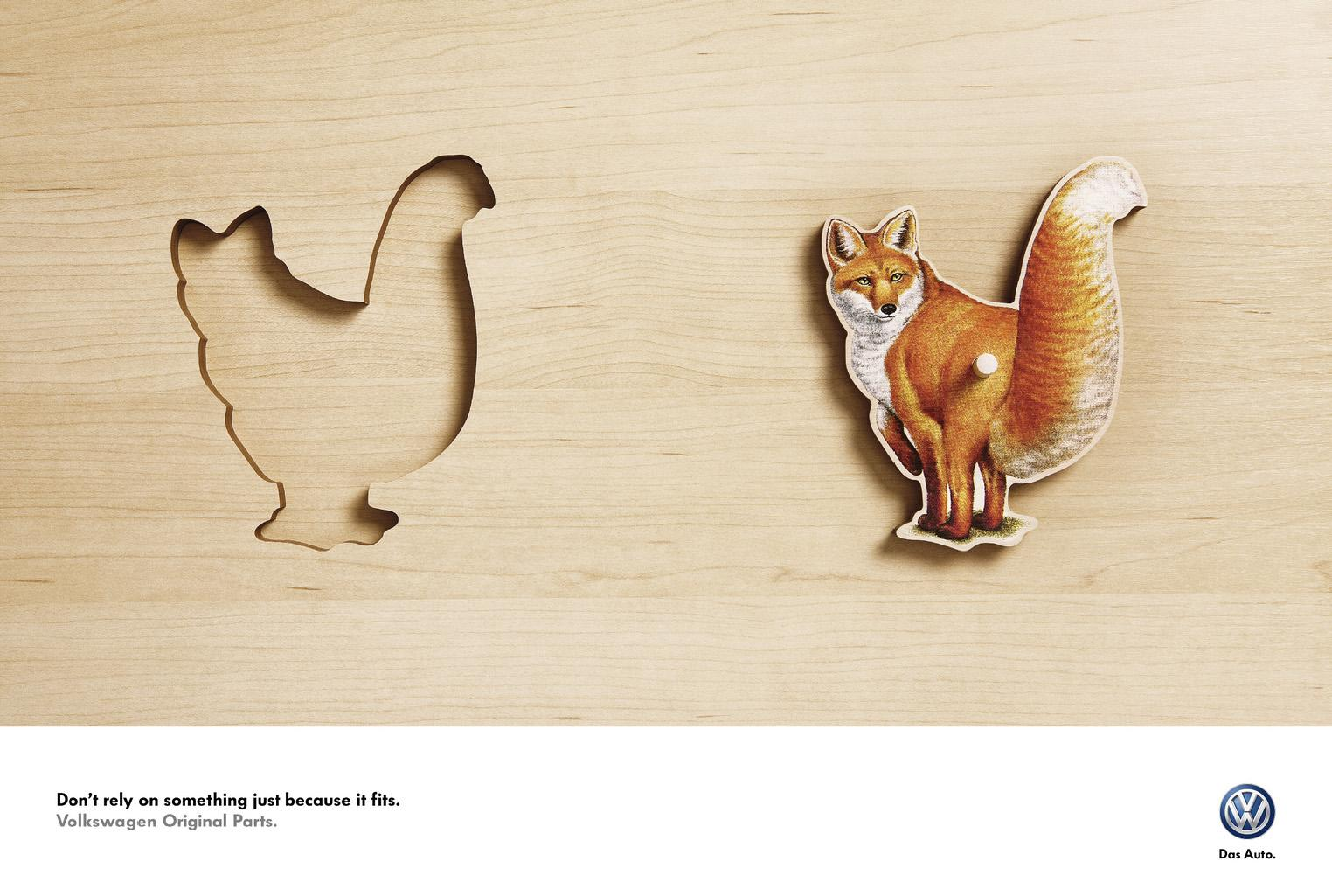 Volkswagen Outdoor Ad -  Fox