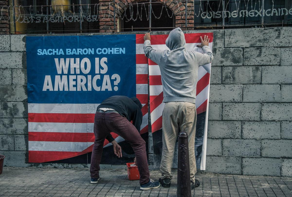 BeTV Outdoor Ad - 'Who is America?'