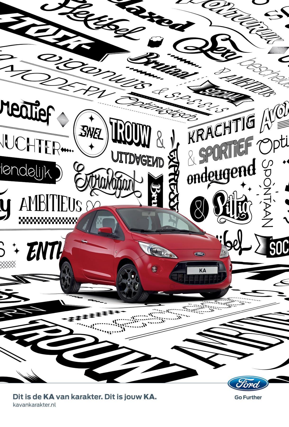 Ford Print Ad -  The KA of character