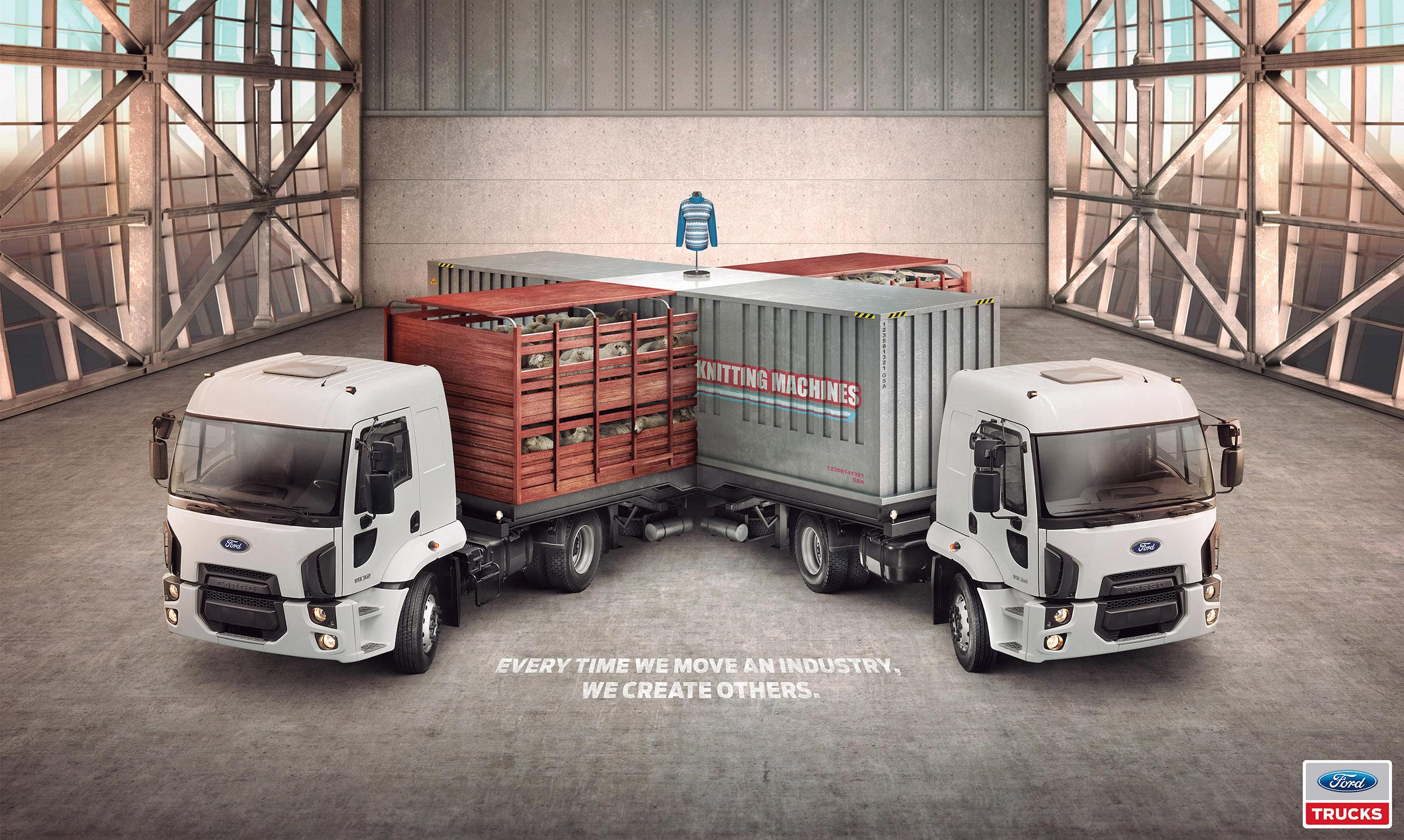 Ford Print Ad -  Intersection, 1