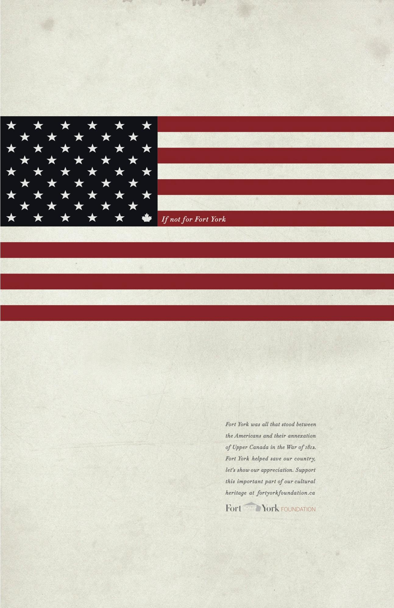 Fort York Print Ad -  United States of Canada