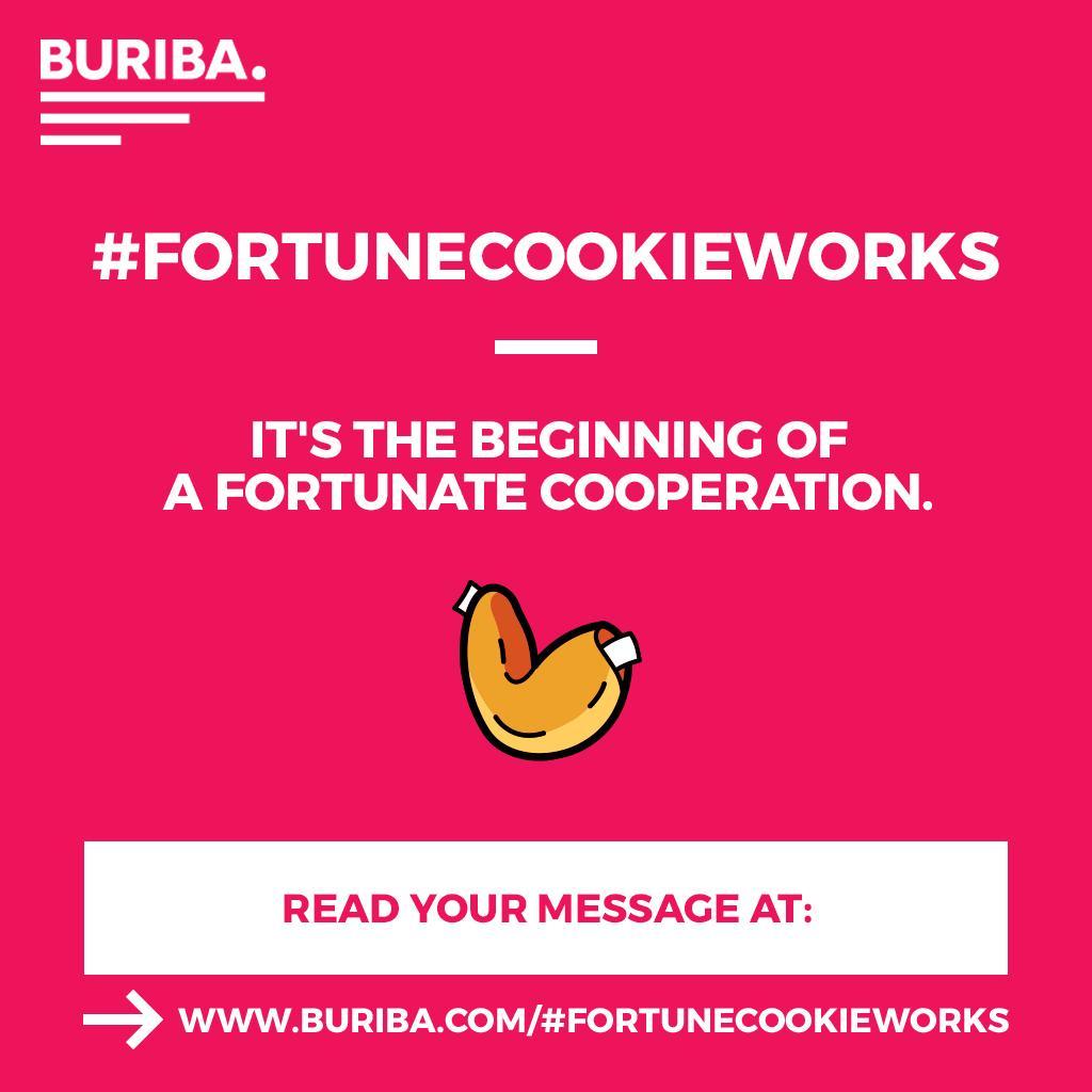 #FORTUNECOOKIEWORKS
