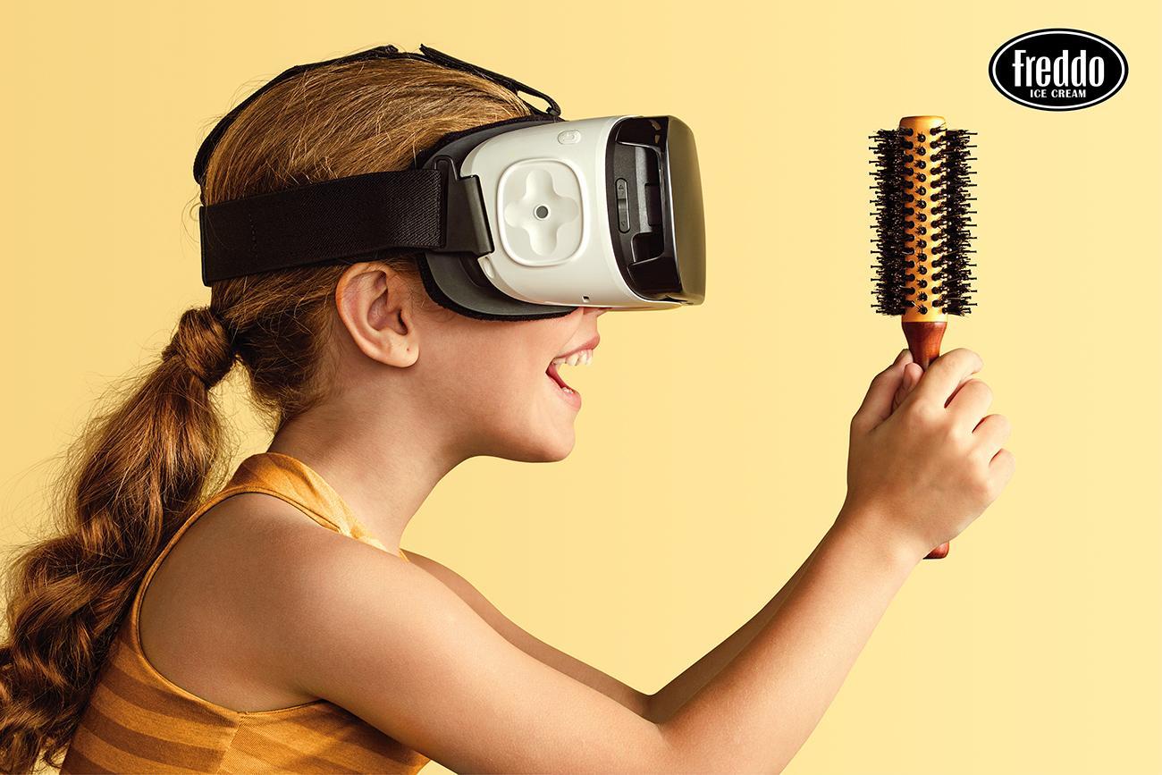 Freddo Print Ad - Virtual Reality, 2