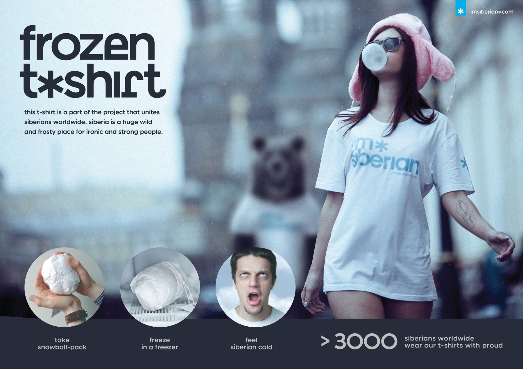 I'm Siberian Direct Ad -  Frozen T-Shirt