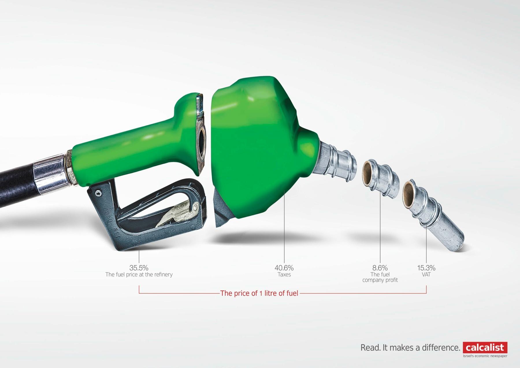 Calcalist Print Ad -  Fuel