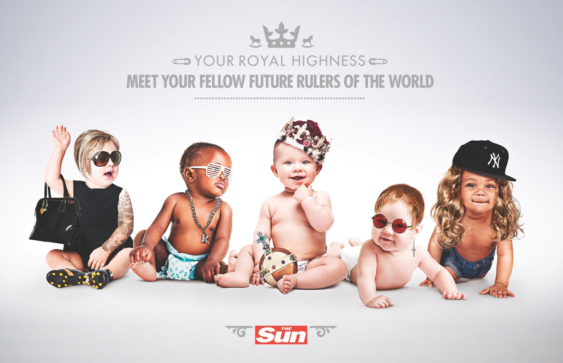 The Sun Print Ad -  Future Rulers