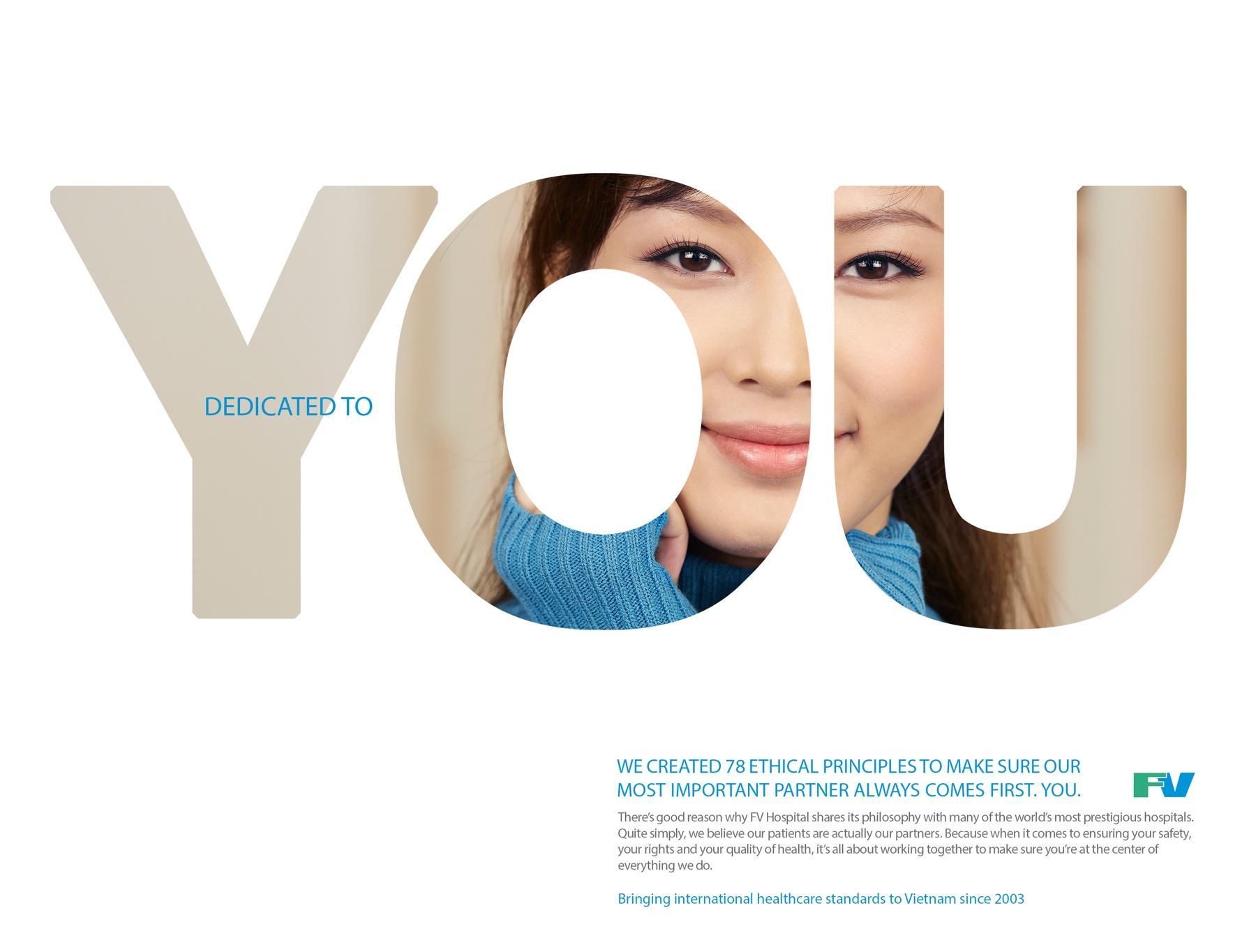 FV Hospital Print Ad -  Dedicated to you, 1