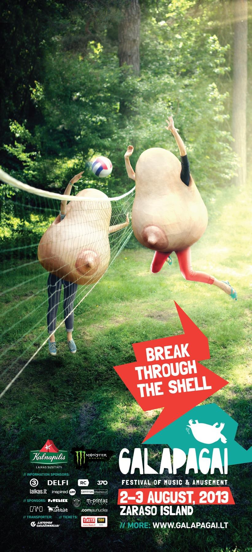 Galapagai Festival Outdoor Ad -  Ball