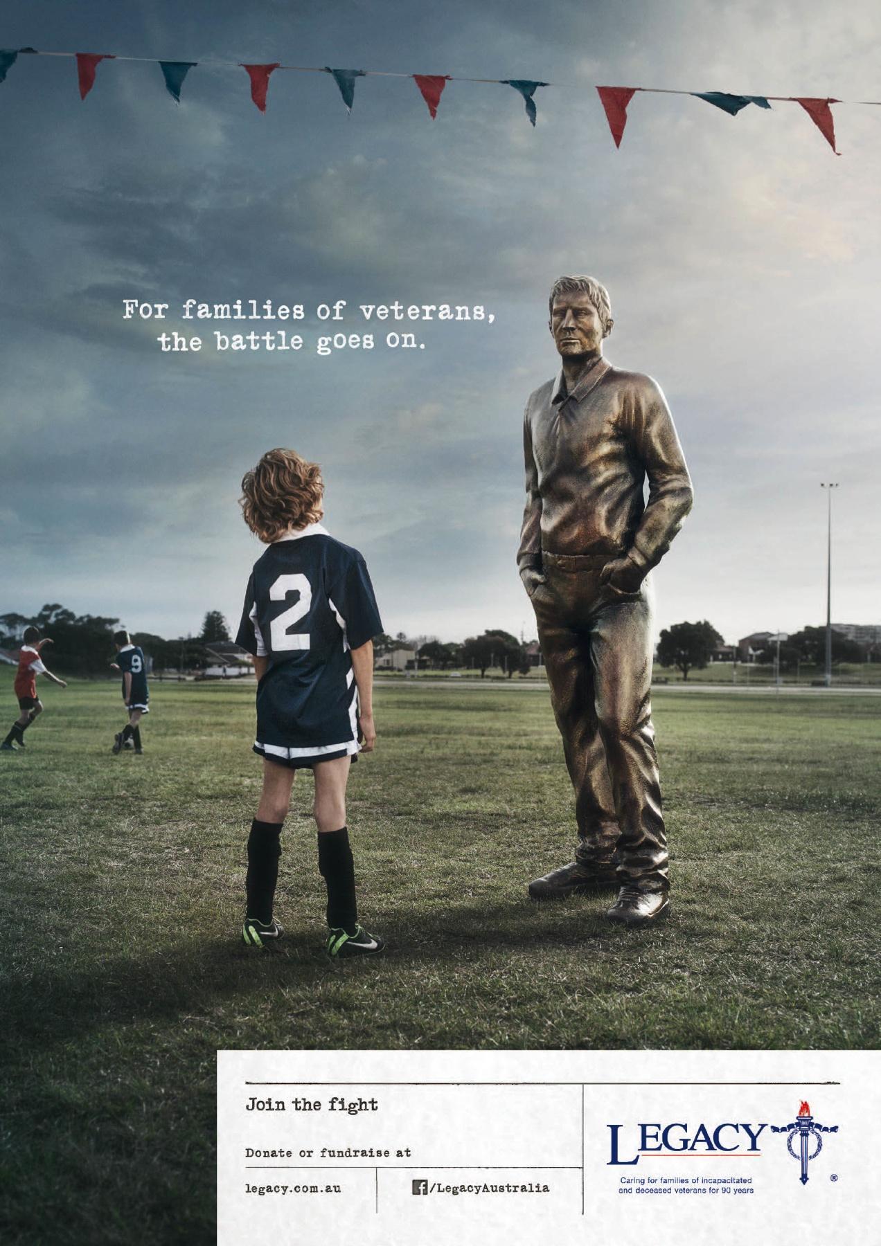 Legacy Australia Print Ad -  Game
