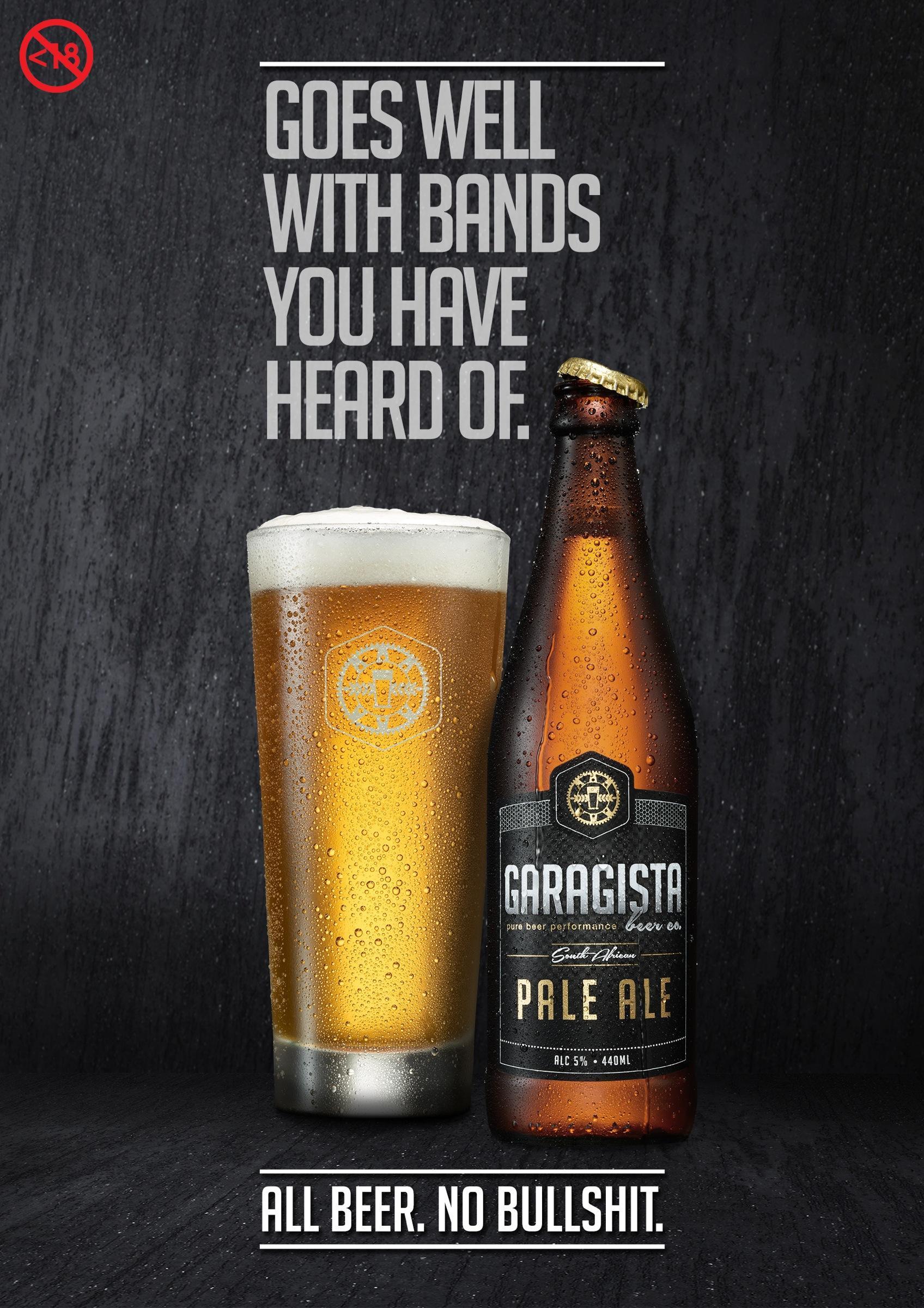 Garagista Print Ad -  Bands