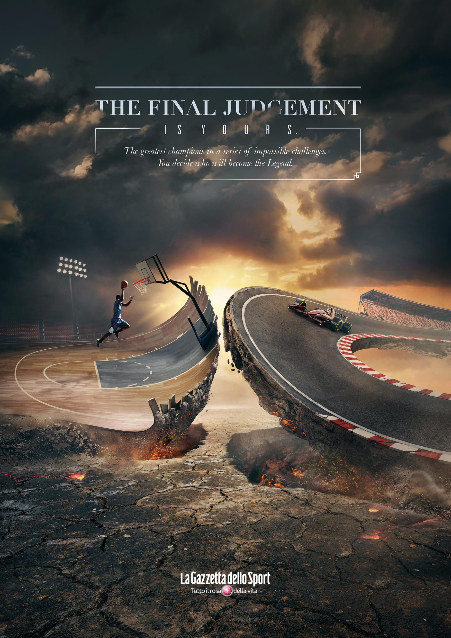 La Gazzetta dello Sport Print Ad - Final judgement, 1
