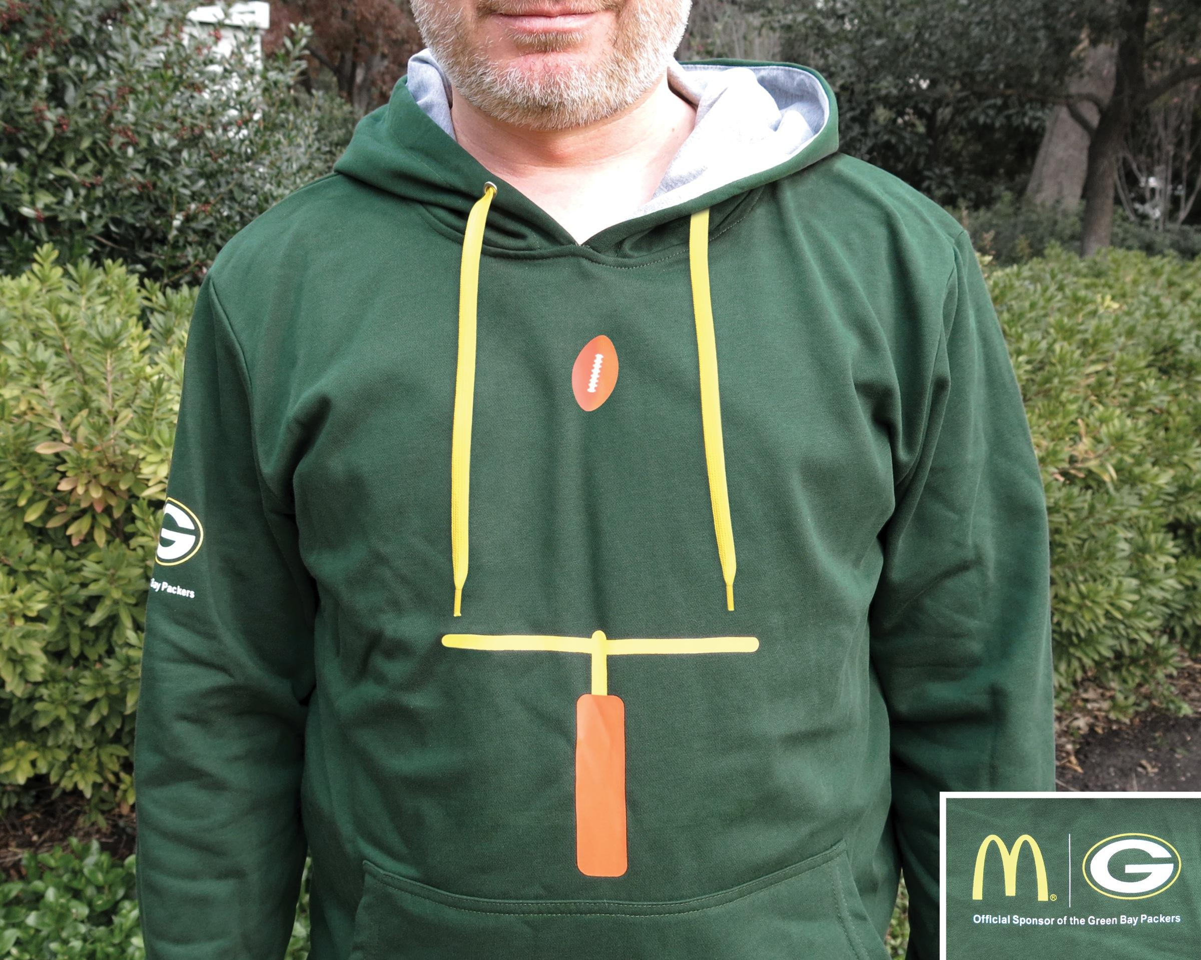 McDonald's Direct Ad -  Green Bay Packers Hoodies