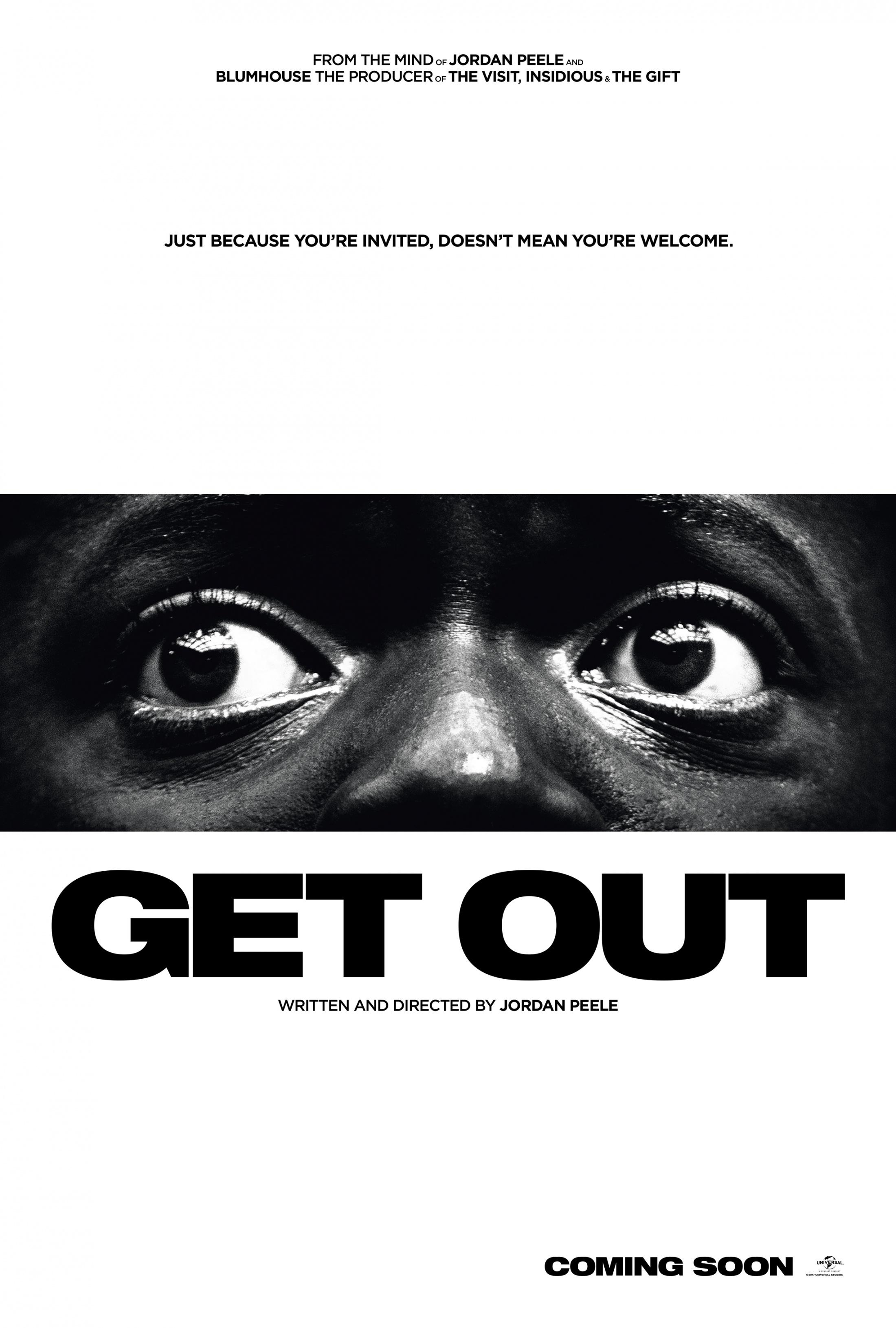 Get Out Print Ad - International One-Sheet