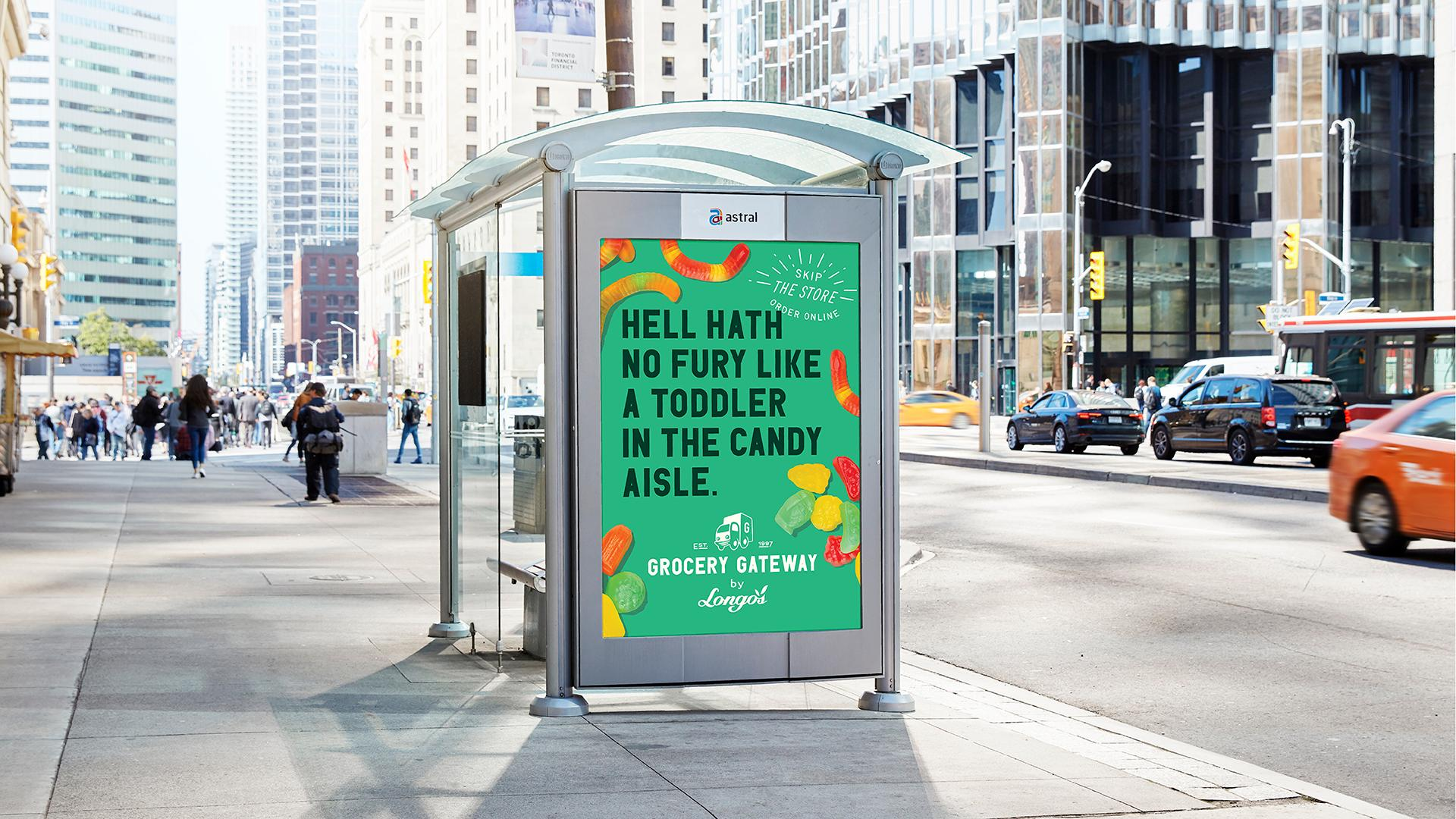 Grocery Gateway Outdoor Ad - Hell