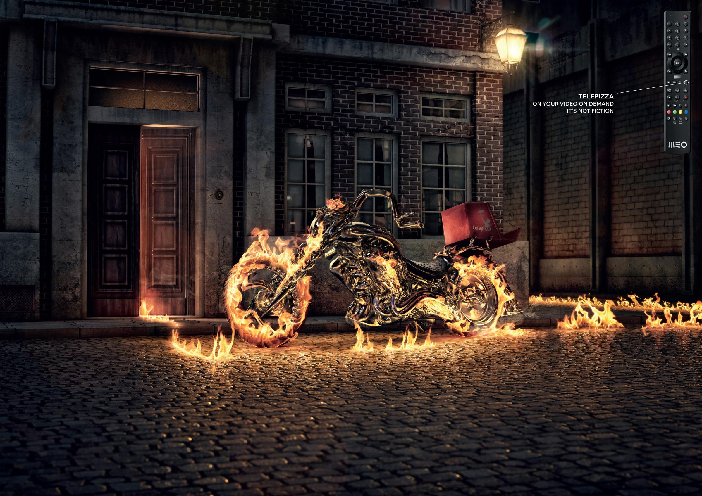 MEO Print Ad -  Ghostrider