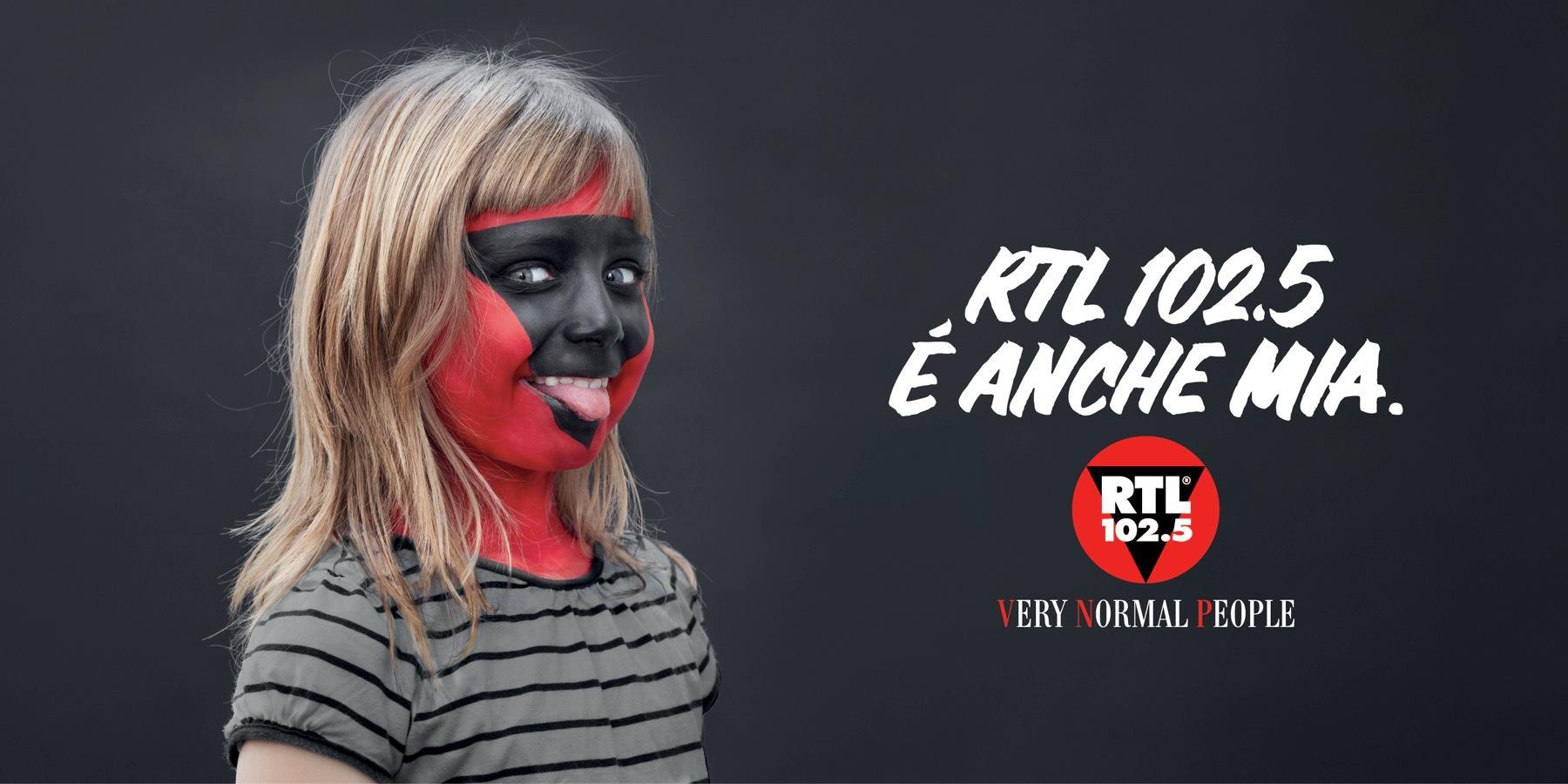 RTL 102.5 Print Ad -  Girl