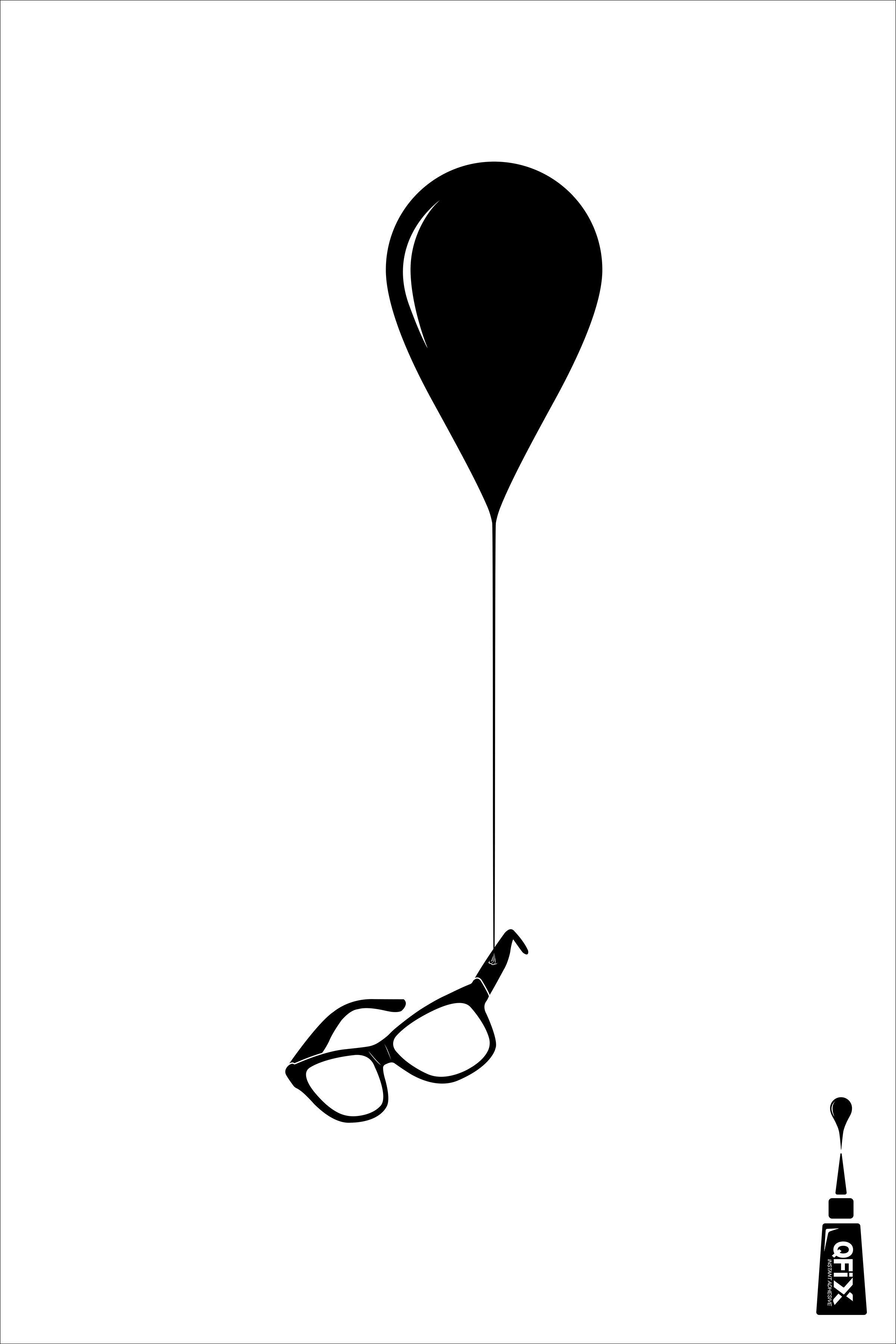 Qfix Print Ad - Glasses