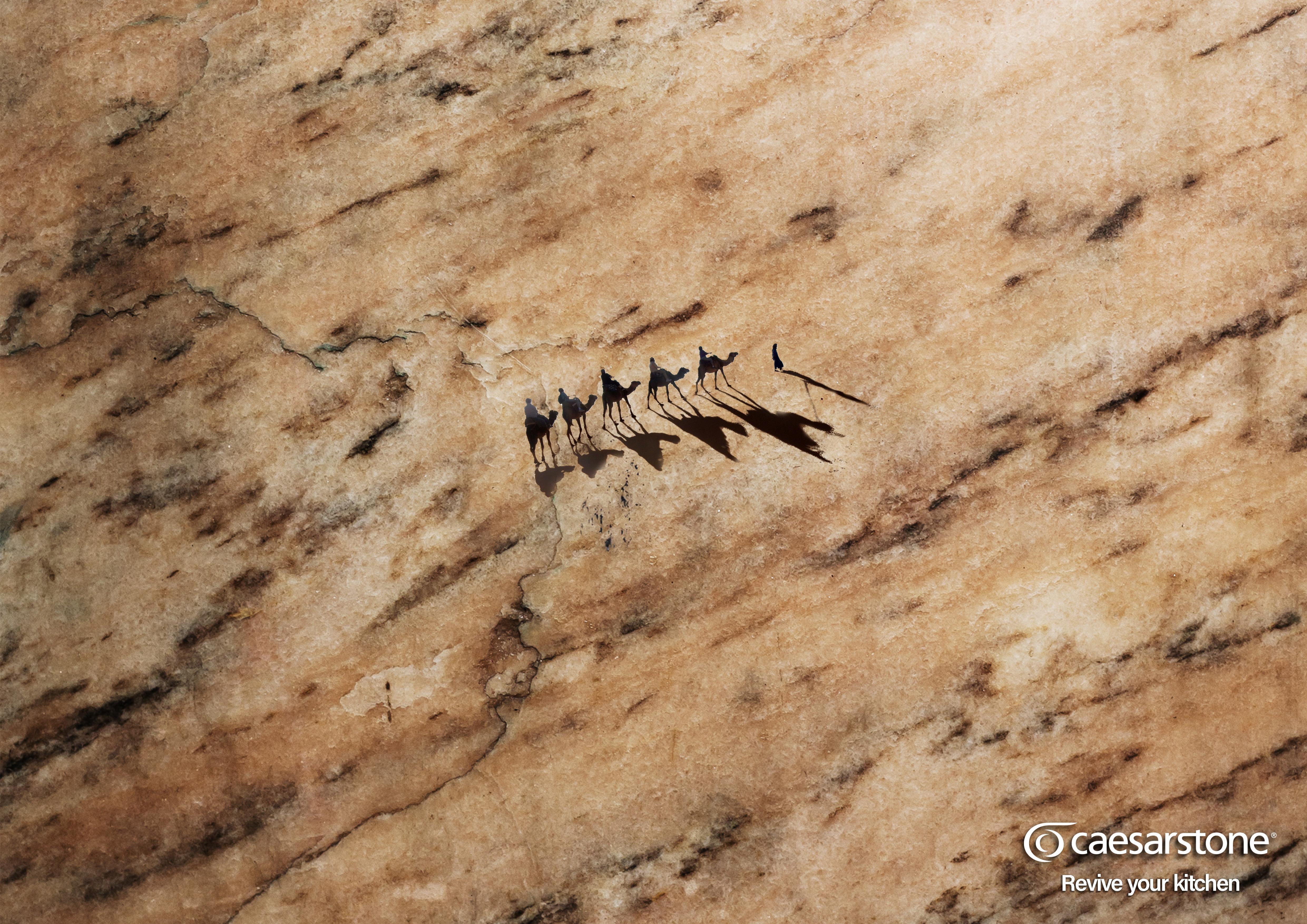 Caesar Stone Print Ad - Revive Your Kitchen, 2
