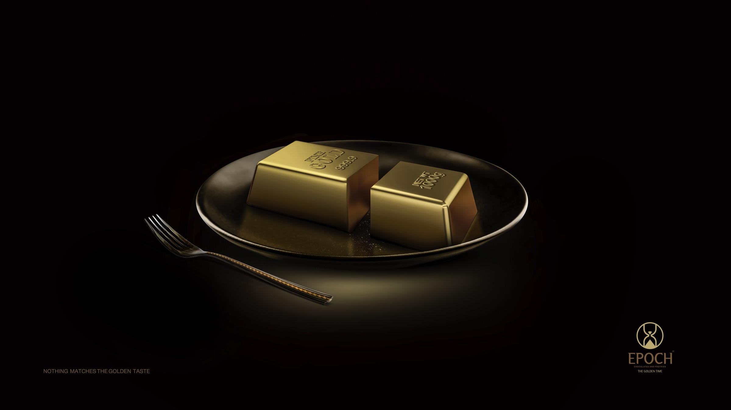 Epoch Print Ad - Gold Bar