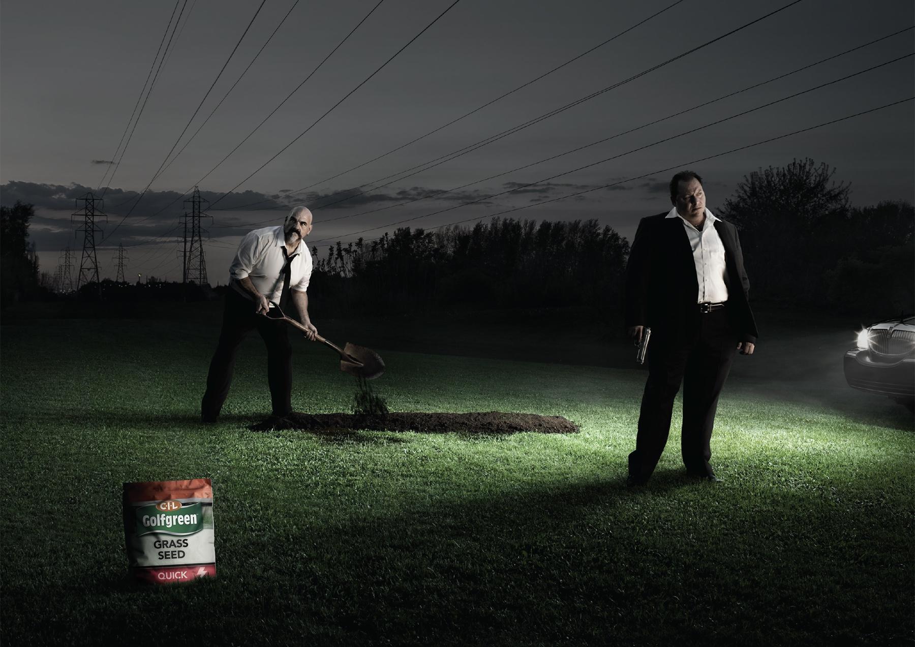 CIL Golfgreen Print Ad -  Mafia