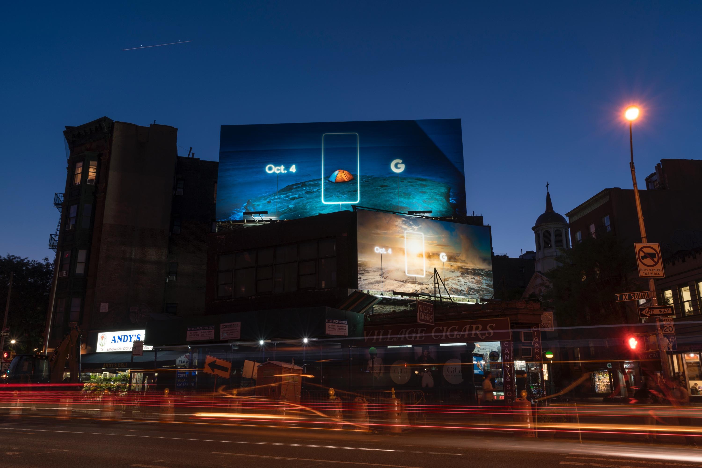 Google Outdoor Ad - Pixel, 3