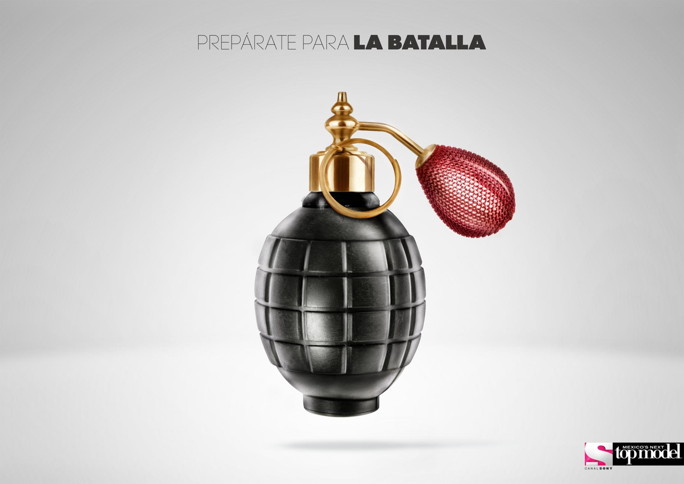 Mexico's Next Top Model Print Ad -  Prepare for battle, 1