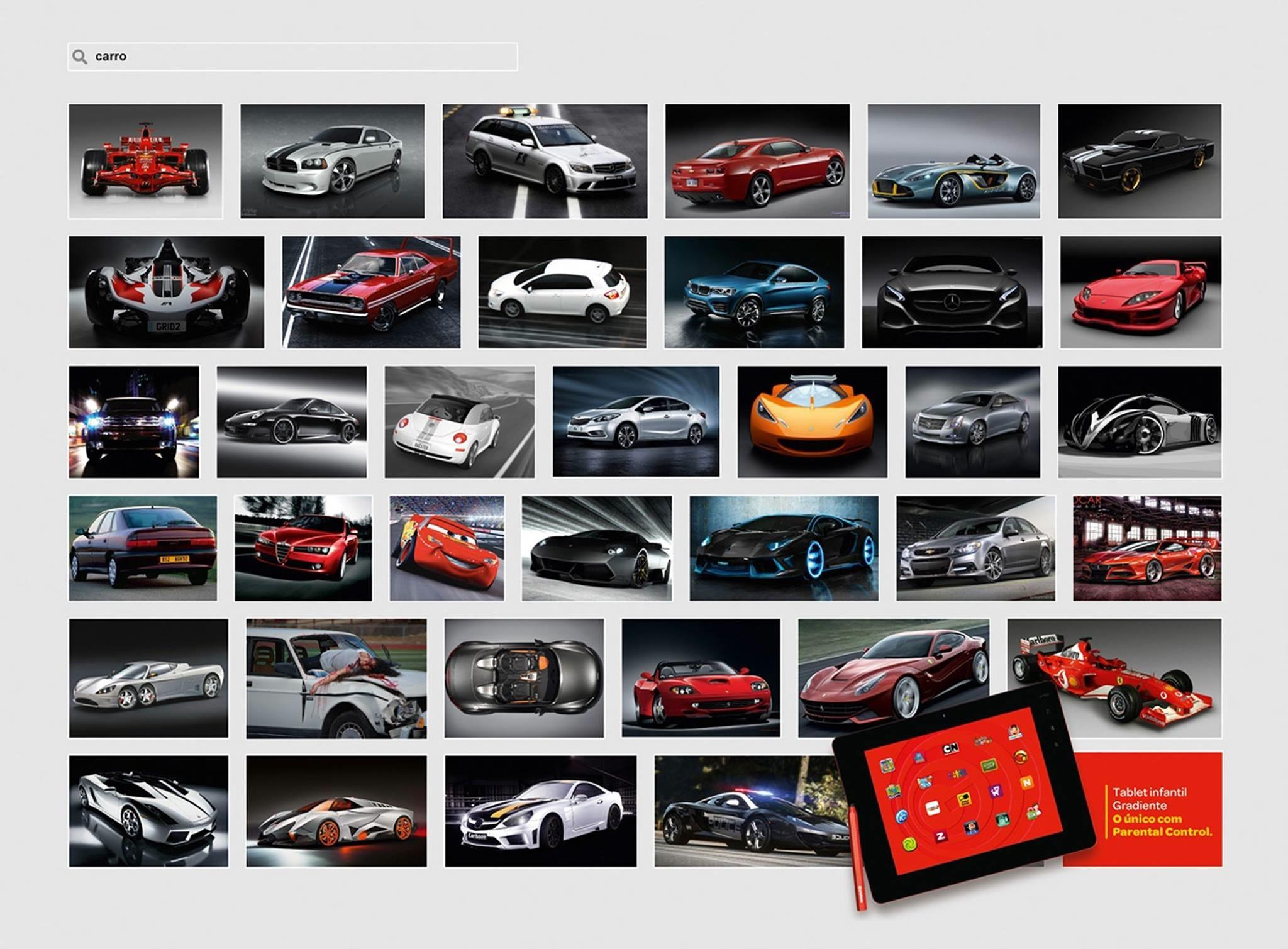Gradiente Print Ad -  Car