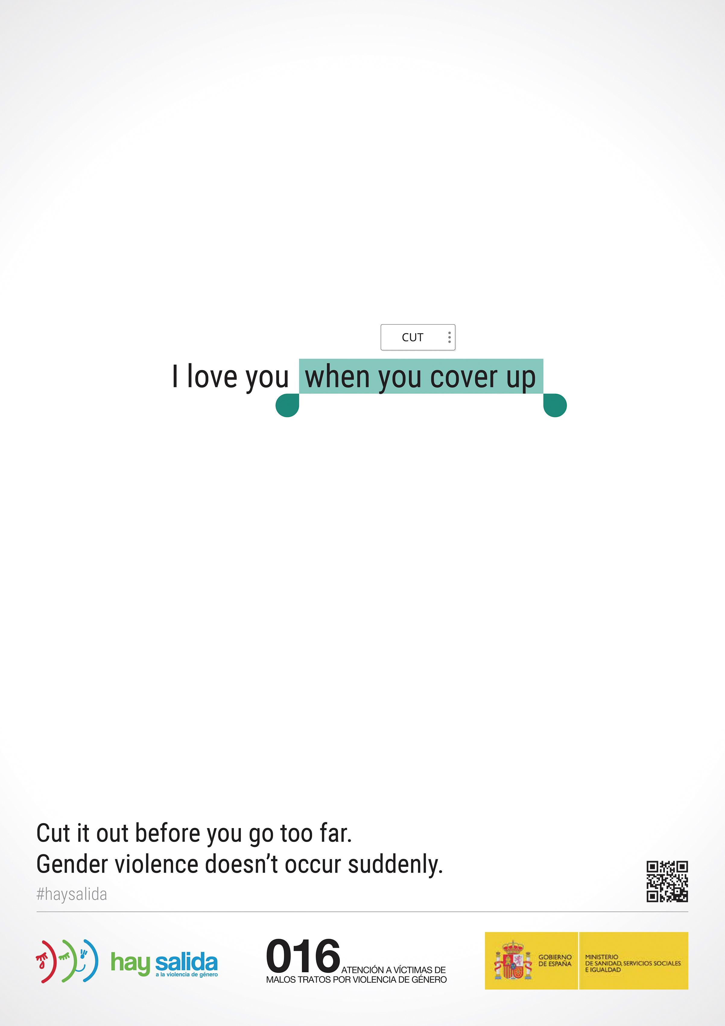 Ministry of Health Outdoor Ad - Love You, 1