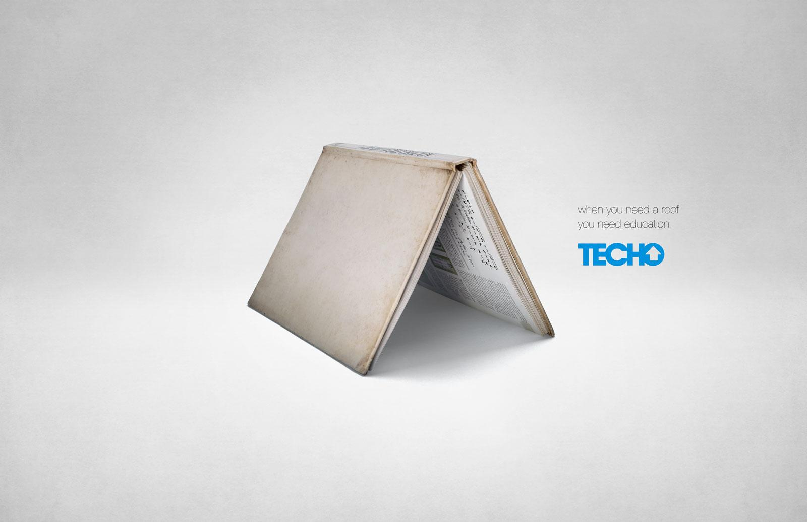 TECHO Paraguay Print Ad -  Education