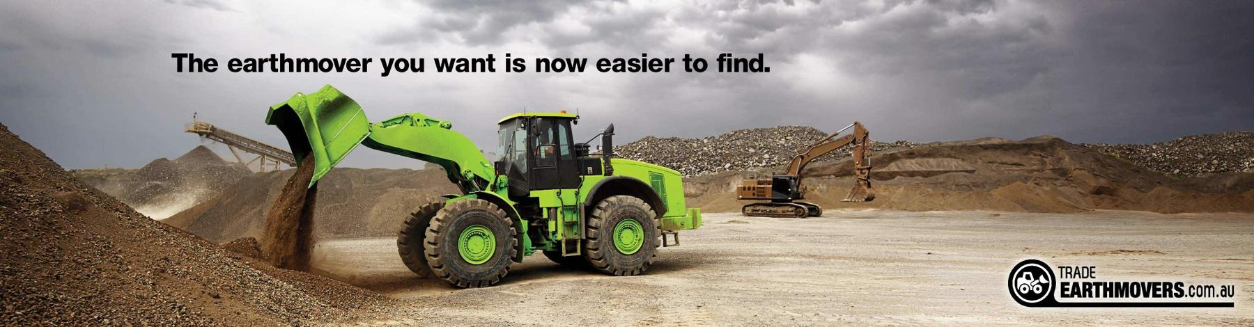 Trader Classifieds Print Ad -  Fluorescent Earthmover