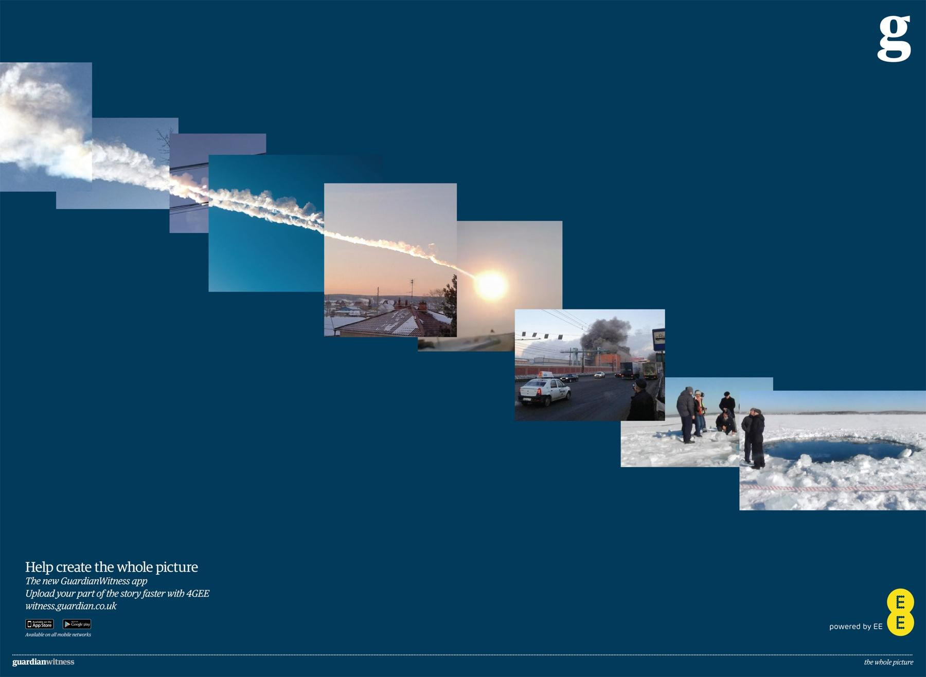 Guardian Print Ad -  Comet