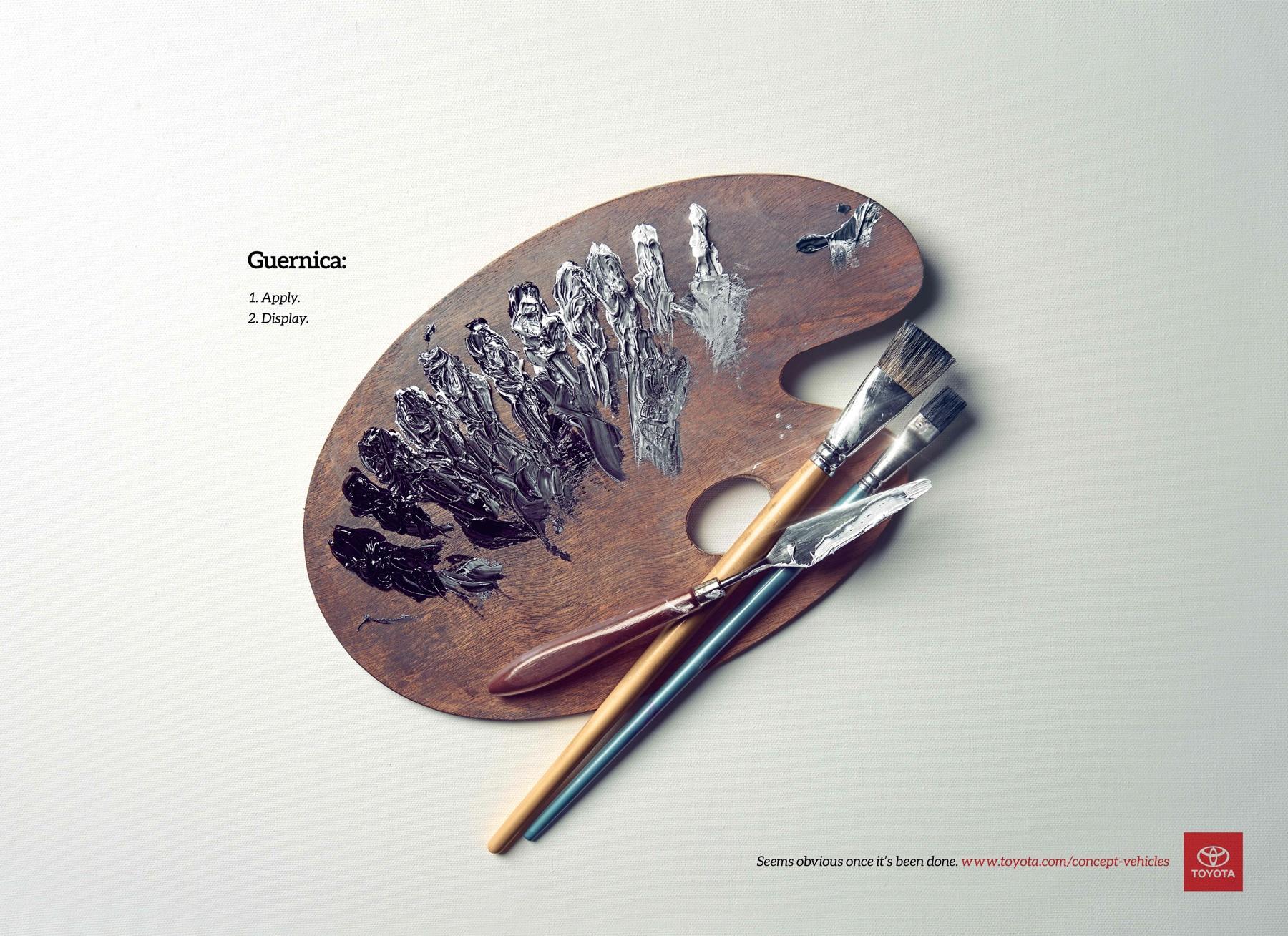 Toyota Print Ad -  Guernica