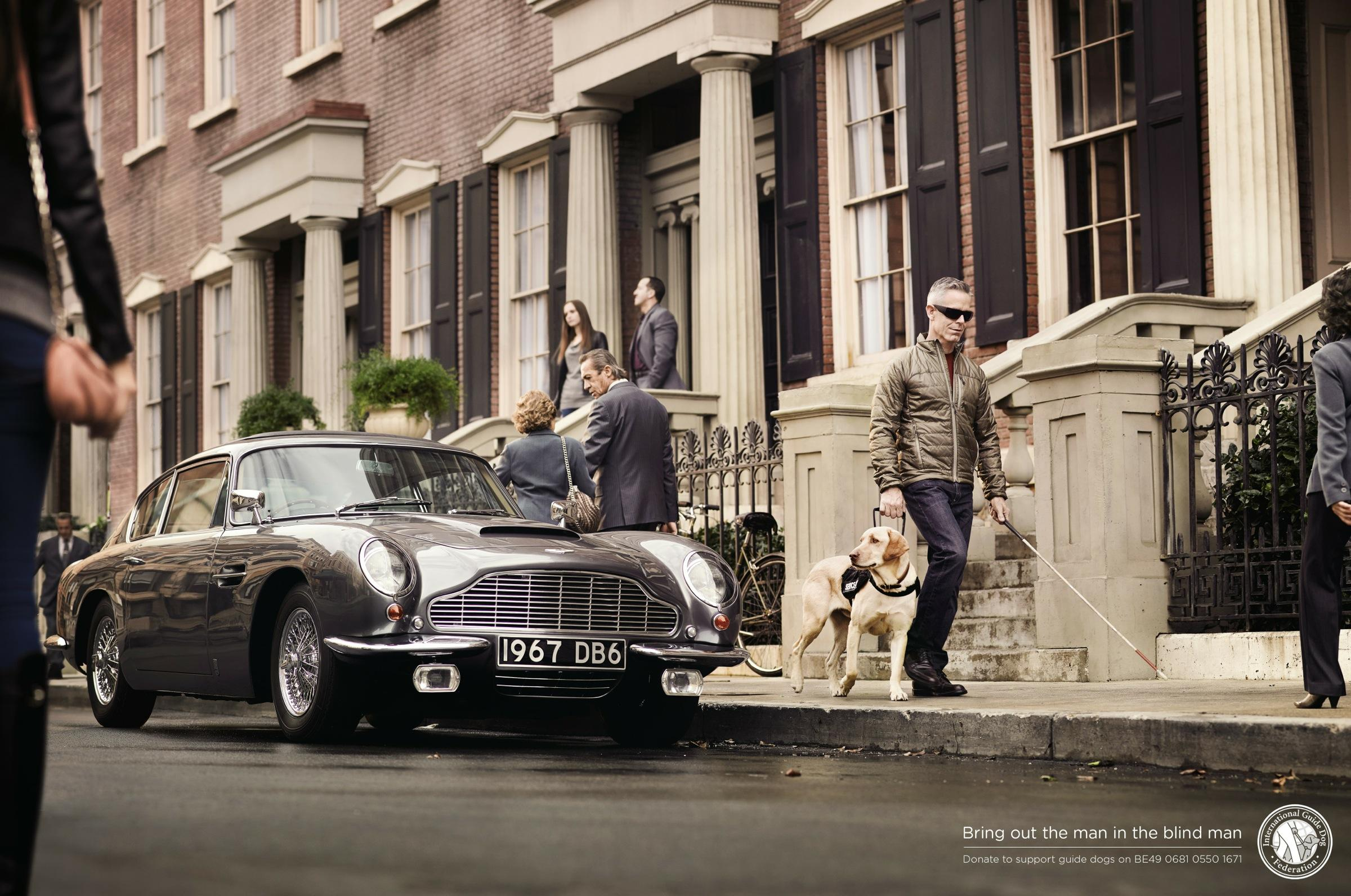 International Guide Dog Federation Print Ad -  Car