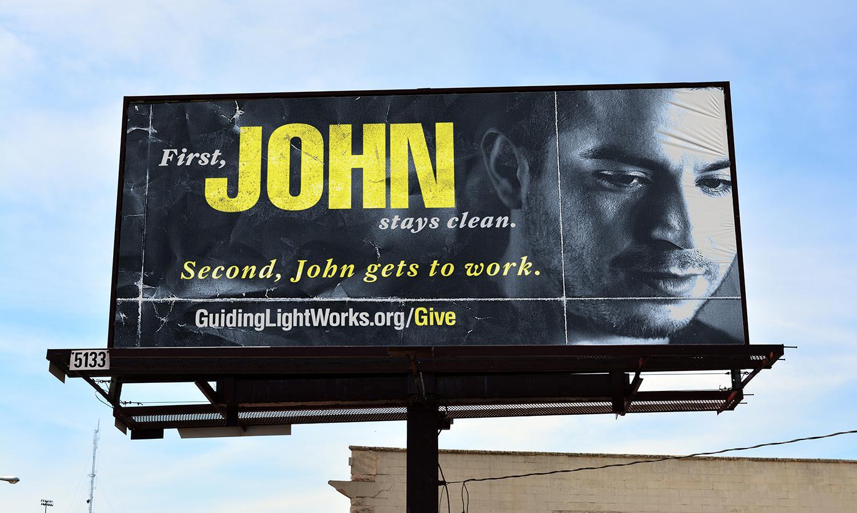 Guiding Light Outdoor Ad - John