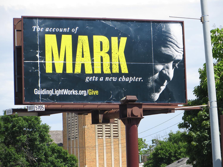 Guiding Light Outdoor Ad - Mark