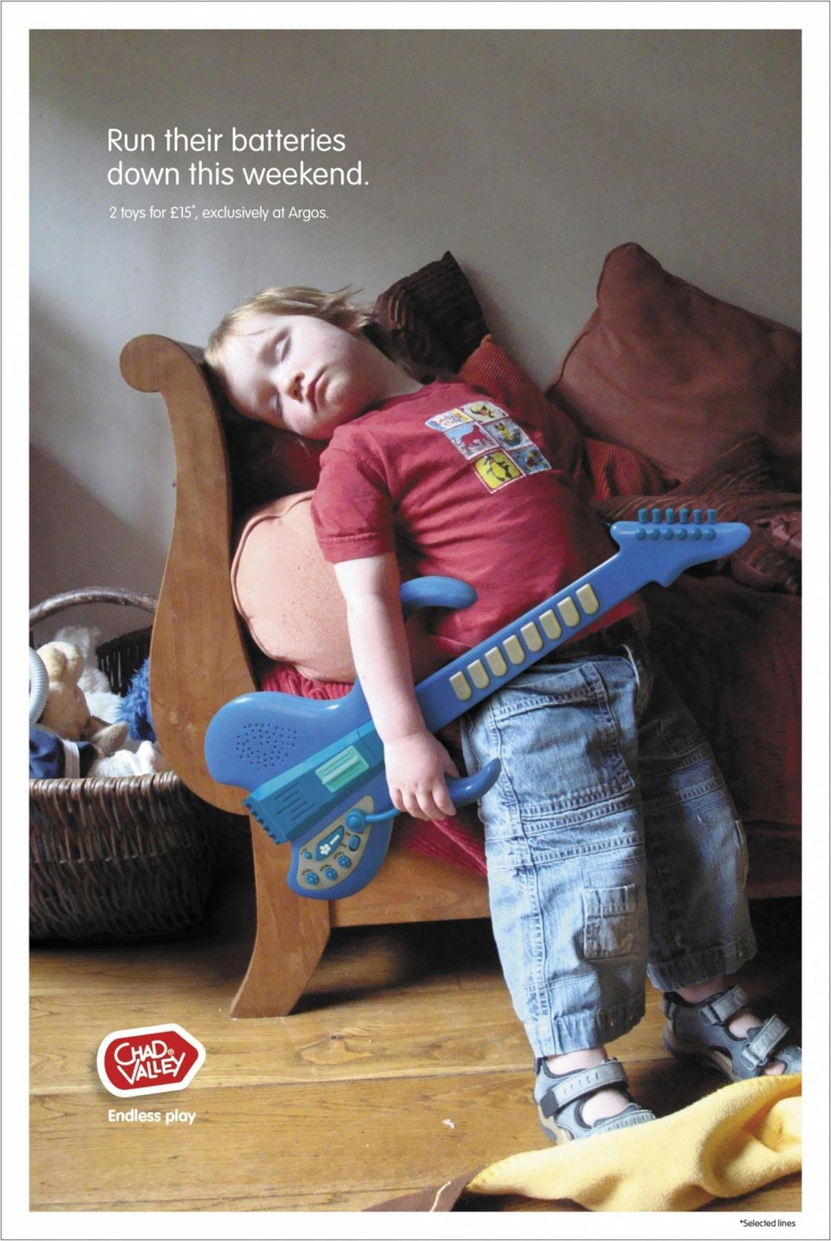 Chad Valley Print Ad -  Guitar