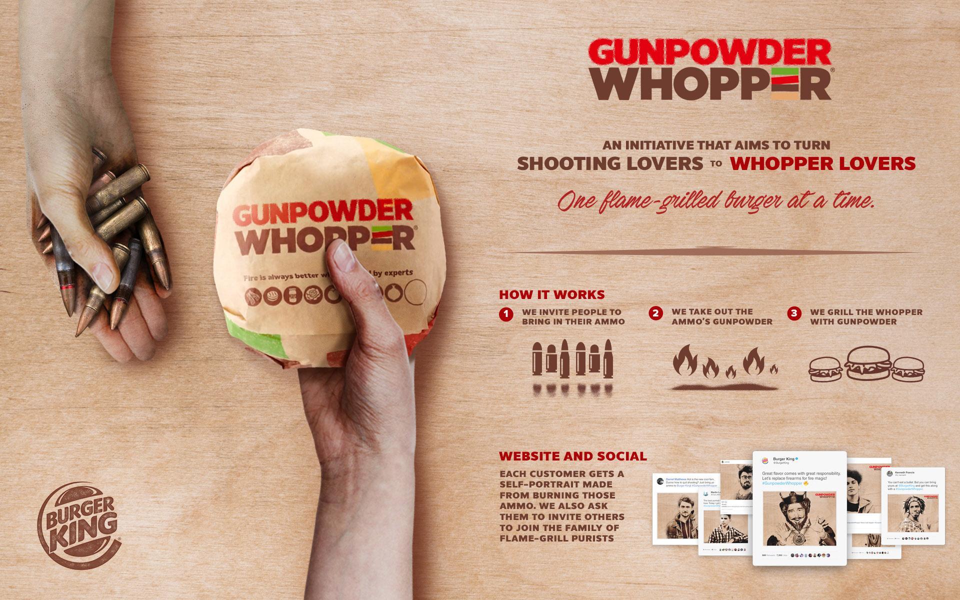 Burger King Film Ad - Gunpowder Whopper
