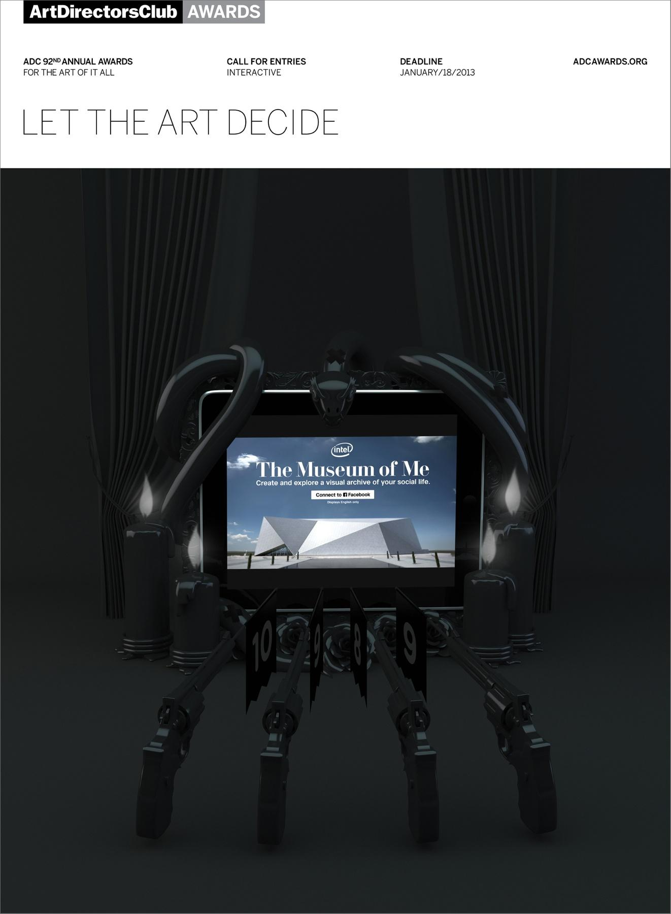 Art Directors Club Print Ad -  Let The Art Decide, Guns