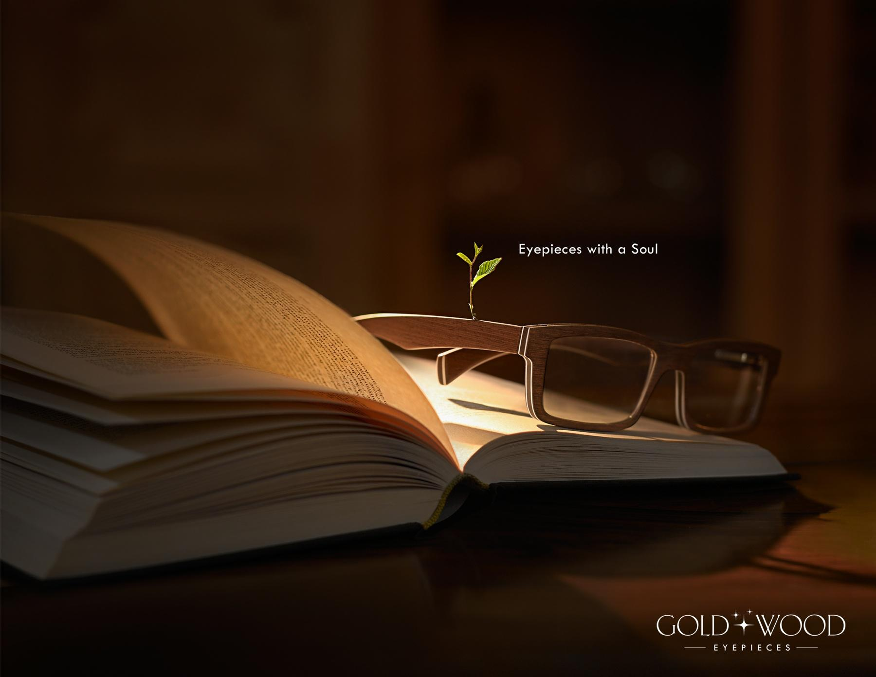 Gold & Wood Print Ad -  Magic