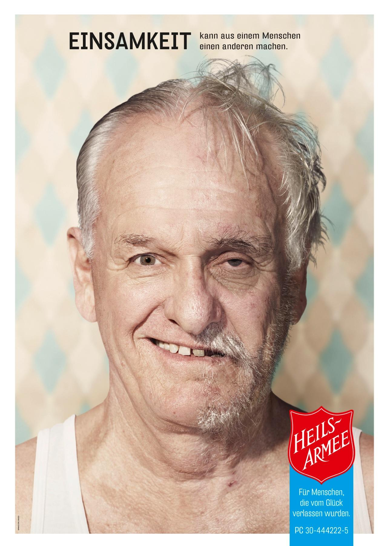 Salvation Army Print Ad -  Loneliness