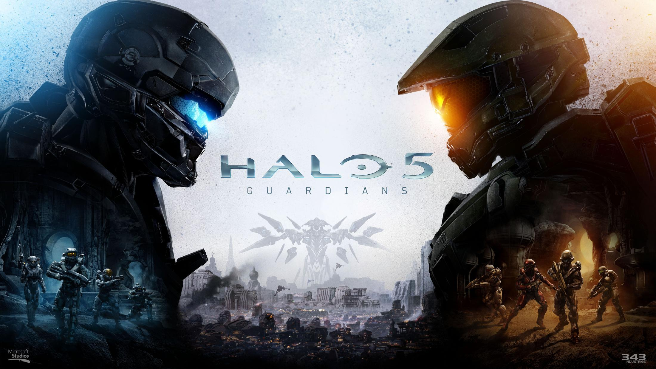 Halo 5 Print Ad - Key Art