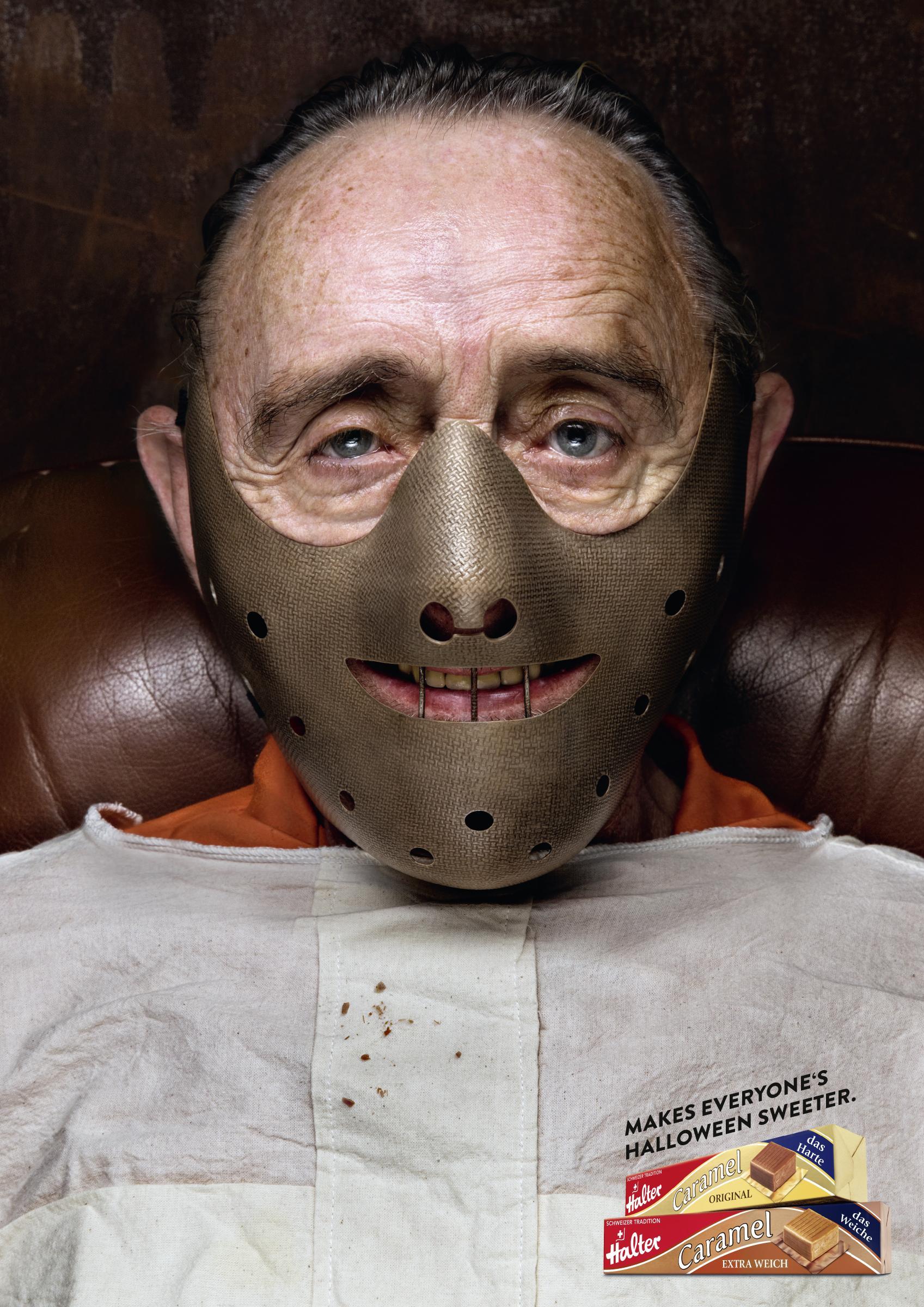 Halter Bonbons Print Ad - Halloween - Hannibal
