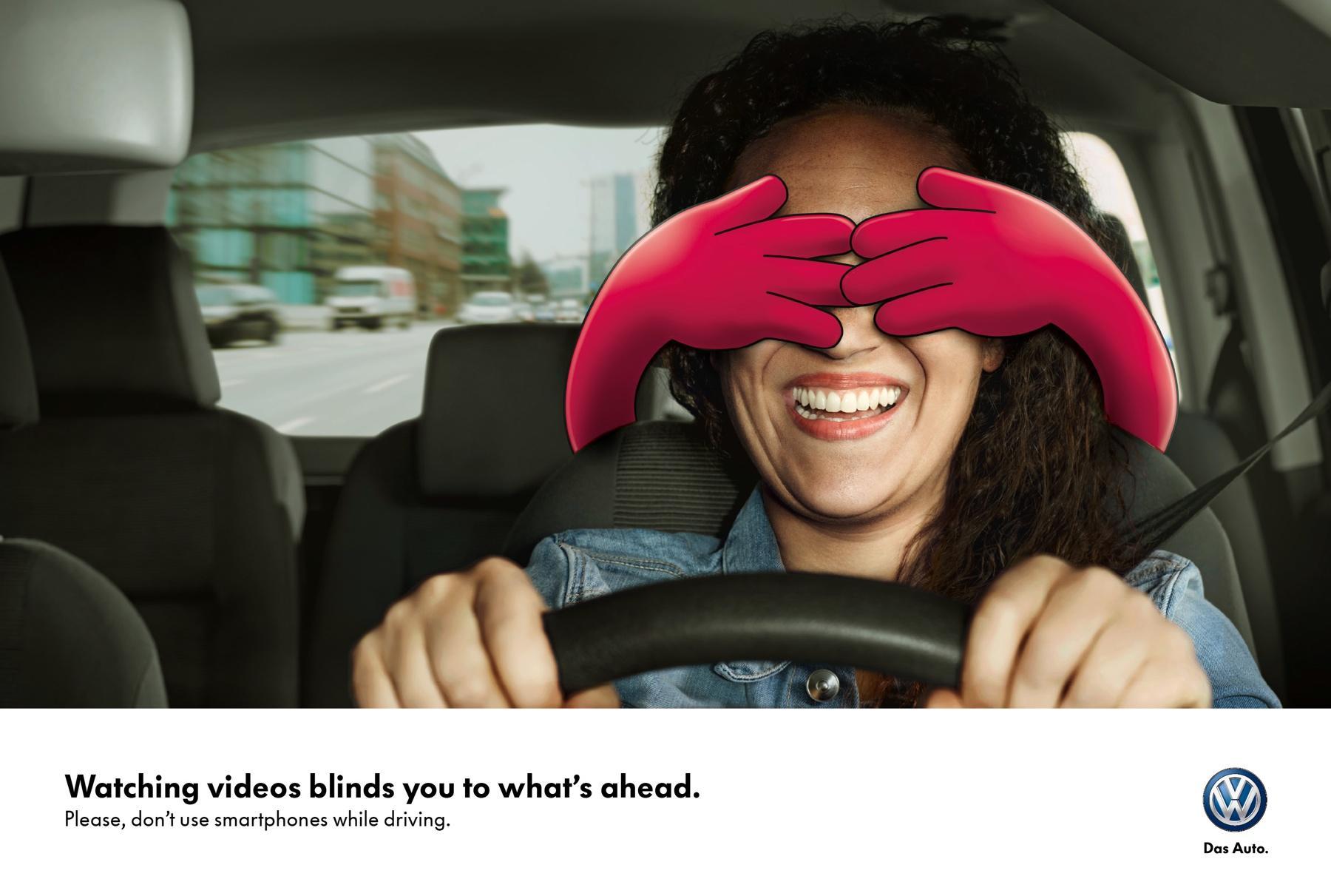 Volkswagen Print Ad -  Hands, 3