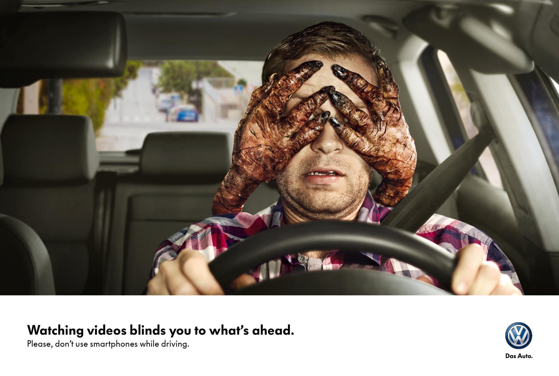 Volkswagen Print Ad -  Hands, 1