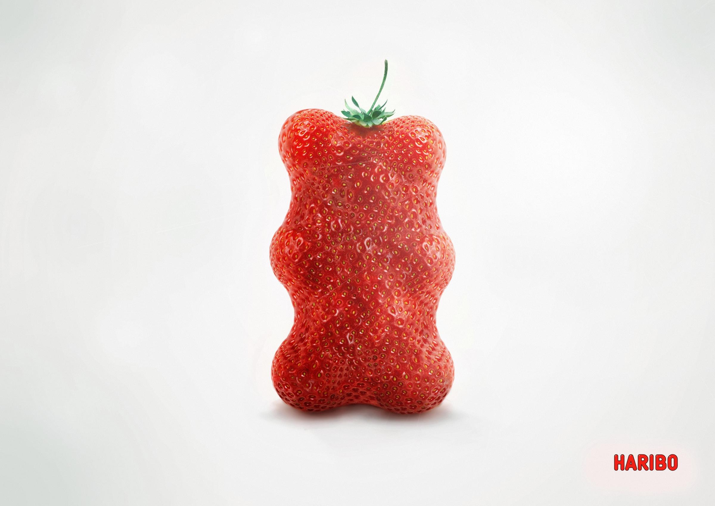 Haribo Print Ad -  Strawberry