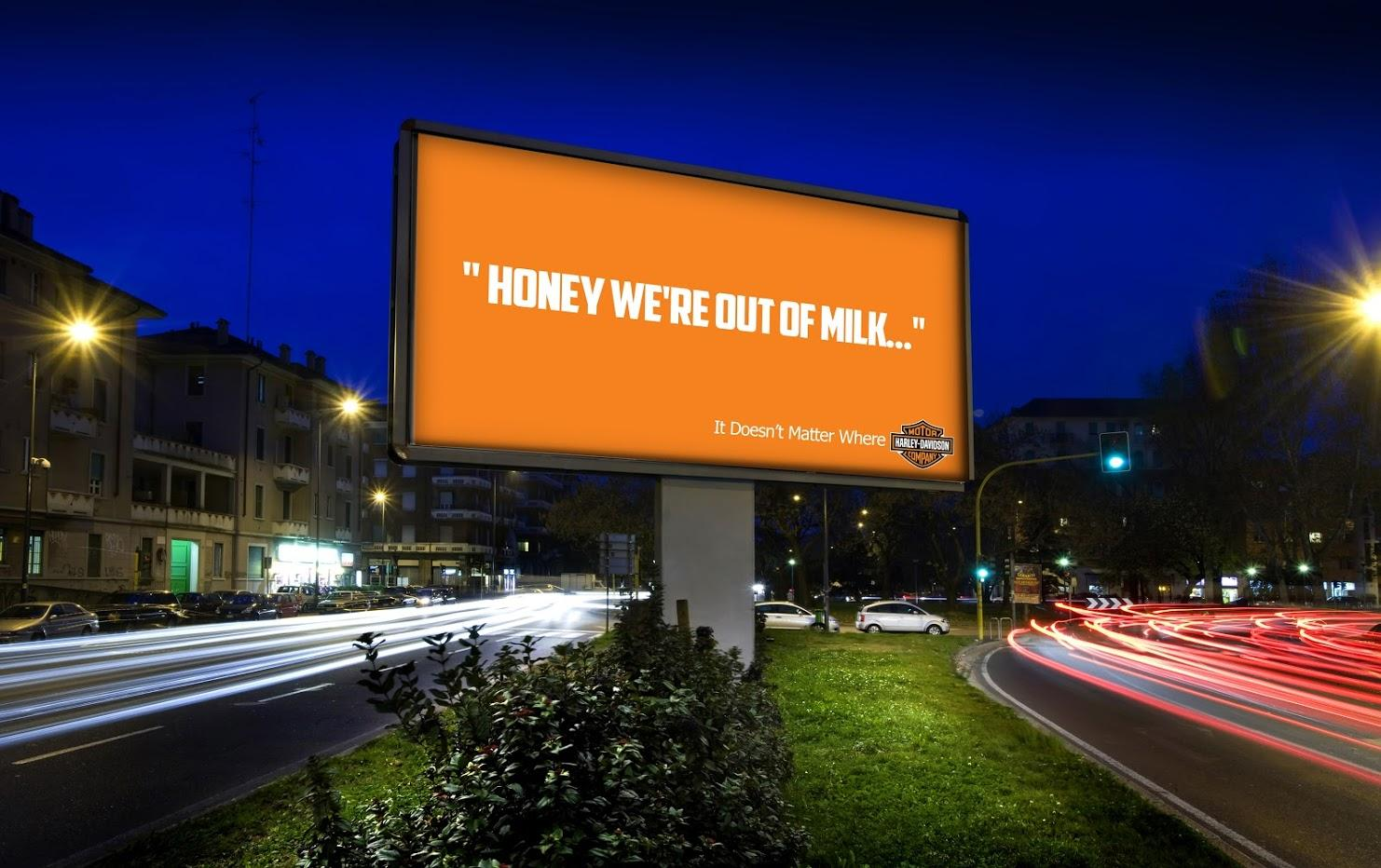 Harley-Davidson Print Ad - Enjoy The Ride, 2