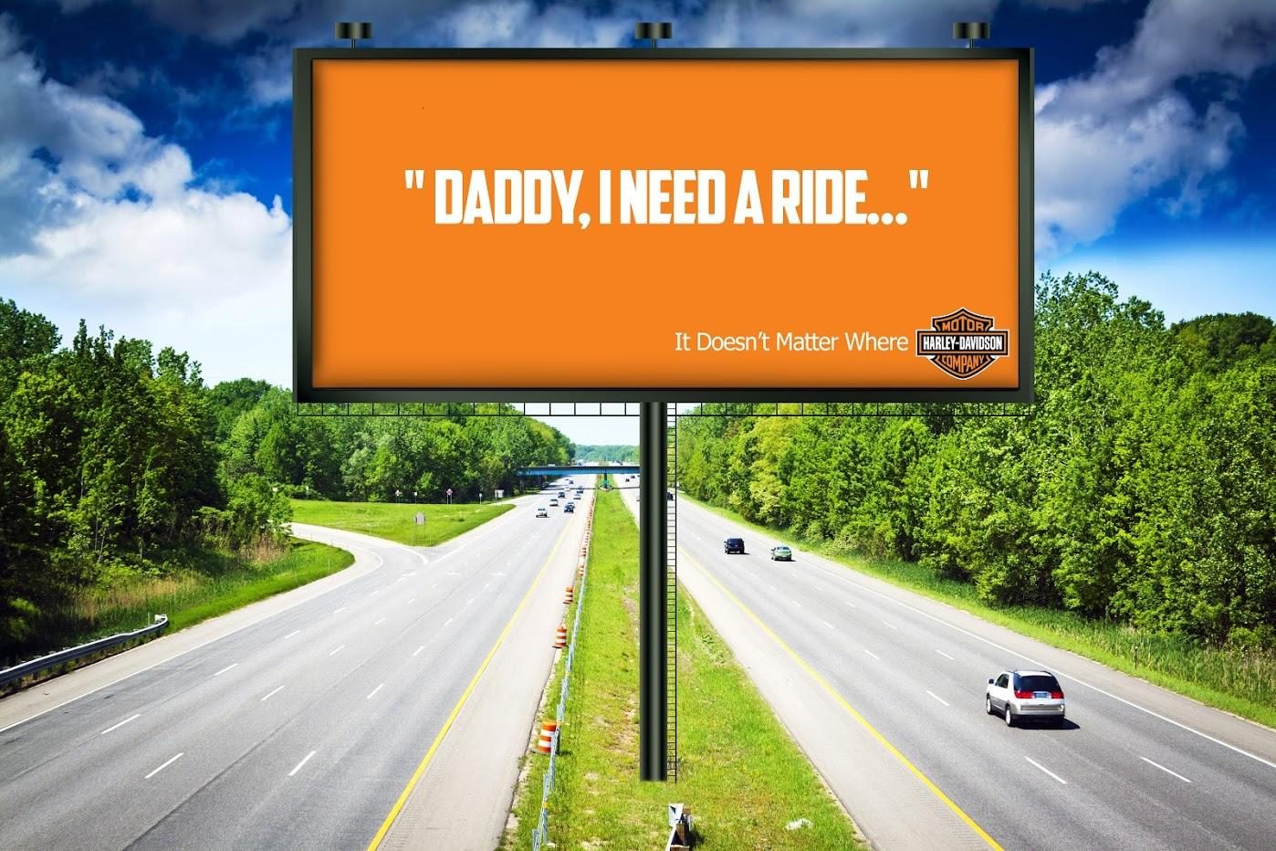Harley-Davidson Print Ad - Enjoy The Ride, 1